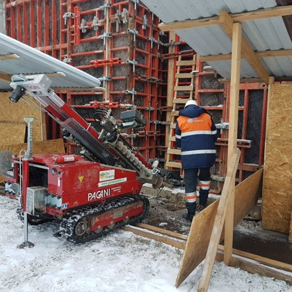 CPT works under difficult conditions (Riga, Latvia).