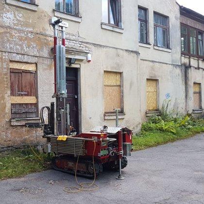 Статическое зондирование для реконструкции исторического здания в Риге