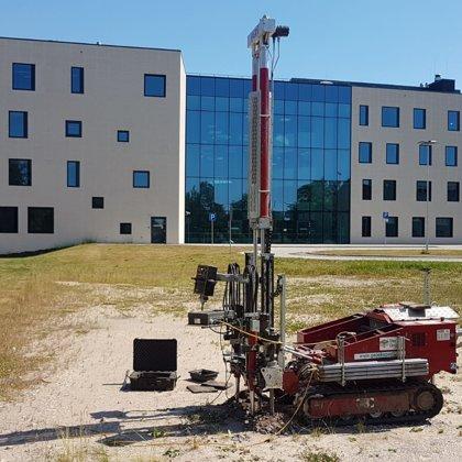 Statiskās zondēšanas darbi Stradiņa slimnīcas jaunā korpusa projektēšanai