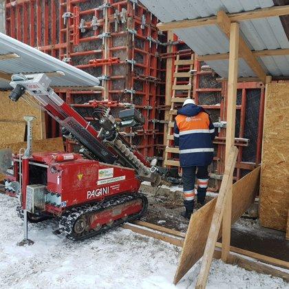 Statiskā zondēšana (CPT) būvobjektā Rīgā, P.Brieža ielā 35